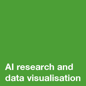 AI research and data visualization