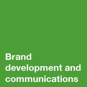 Brand development and communications